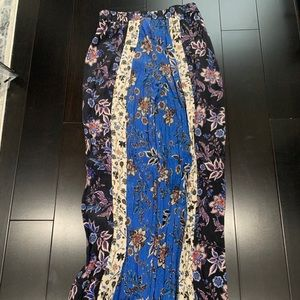 Floral comfy pants